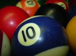 ten poolball