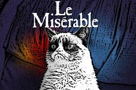 le miserable cat